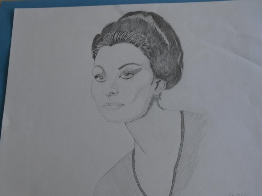 Sophia Loren par polomarco